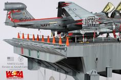 carrier-based aircraft base  1/48 Scale Elevator on Aircraft Carrier