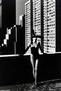 Bunny girl: Another iconic photo from the collection of Gelf Elfering one of the world's foremost collectors of 20th-century photography,