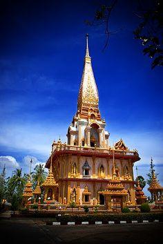 Largest vihara at Phuket