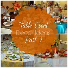 Table Decor Ideas Part 2 - Women's Ministry Toolbox