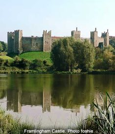 Framlingham Castle, Suffolk, UK