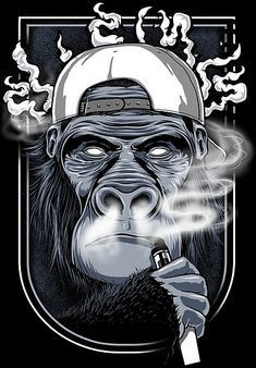 The USA shop for Vape Kits, E-Liquids and Vaping accessories Vape Logo Design, Vape Store Design, Vape Wallpaper, Hookah Lounge Decor, Arte Hip Hop, Monkey Art, Gas Monkey, Vape Art, Graphic Artwork