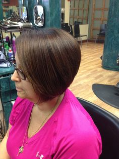 perfect stacked bob