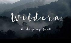 Wildera - Free Font par Lauren Lee | 02