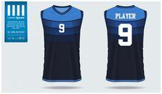 Mockup Design, Vector Photo, Vector Freepik, Basketball Jersey, Templates, Kit, Sport, T Shirt, Stencil Designs