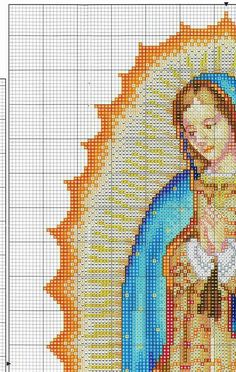 Punto cruz Cat Cross Stitches, Cross Stitch Angels, Xmas Cross Stitch, Cross Stitch Love, Hand Embroidery Stitches, Cross Stitch Flowers, Embroidery Techniques, Cross Stitching, Cross Stitch Embroidery