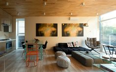 гостиная: фото дизайна интерьера - автор Махно Сергей