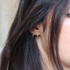 Horn moon earrings (Feidt)