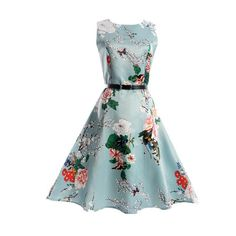 Floral printed girls dress sleeveless Children Summer clothing 5 7 10 11 12 13 15 20 years girl party dresses kids clothes