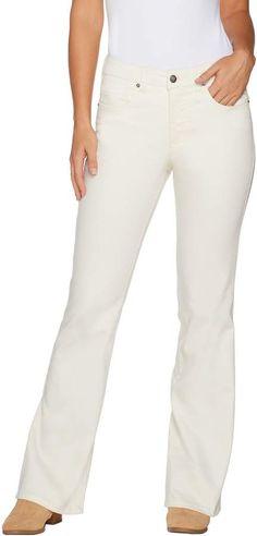 ffad755f8df Women With Control Women with Control Petite My Wonder Denim Twill Boot Cut  Jeans