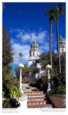 Hearst Castle | San Simeon, California - one of many stops we plan along the Pacific Coast Highway on our summer vacation.