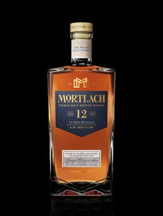 Mortlach Single Malt Scotch Whisky on Packaging of the World - Creative Package Design Gallery Cigars And Whiskey, Scotch Whiskey, Irish Whiskey, Bourbon Drinks, Spiritus, Home Brewing Beer, Single Malt Whisky, Wine And Liquor, Bottle Design