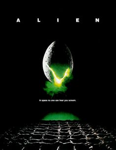 We are going to pull out the best horror movie posters over the past four decades! I have for you the top ten horror movie posters of the Horror Movie Posters, Alien Movie Poster, Alien Film, Alien 1979, Aliens Movie, Horror Movies, Film Posters, Classic 80s Movies, Best Sci Fi Movie