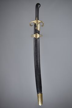 18th century Ottoman sword yataghan. Konrad Sherlock collection
