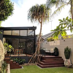 A recently completed project in Clovelly which I have to say is a personal favourite of mine. The garden was designed around the existing… Outdoor Spaces, Outdoor Living, Garden Architecture, Small Garden Design, Balcony Garden, Garden Inspiration, Garden Ideas, Amazing Gardens, Landscape Design