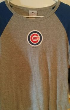 Women's L 5th and Ocean Chicago Cubs Long Sleeve T-shirt #5thandocean #GraphicTee