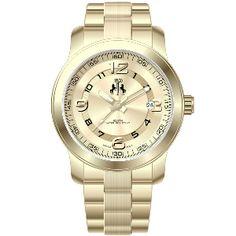 Jivago Ladies'  Infinity Watch in Gold