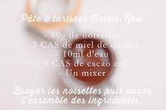 Pâte à tartiner «Nutell-Raw» | Clones N Clowns by Aimee Wood