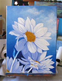 Serena Lewis Art: Coming Up Daisies part 2
