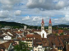 Winterthur, Switzerland-my first trip abroad when I was 12 yrs old with my cousin who was 16 yrs old.