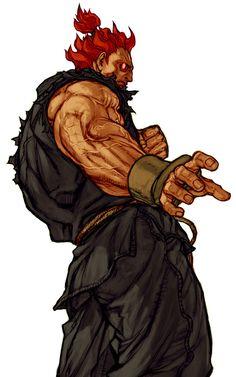 Akuma by Kinu Nishimura | Street Fighter