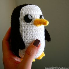 Adventure time penguin amigurumi by CraftyisCool1