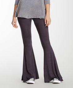 Look at this #zulilyfind! Jantie Gray Kimmy Flare Pants by Jantie #zulilyfinds