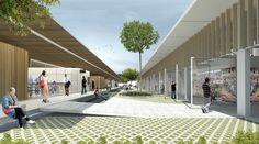 Galeria - Menção Honrosa no Concurso para a Requalificação do Mercado Público de Lages-SC / Estudio BRA Arquitetura + Mono Arquitetos - 2