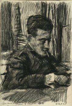 Il  capitano Fantoni (1918) Mario Sironi