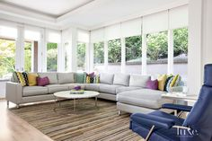A Midcentury Modern Mercer Island Home with a Bold Color Palette