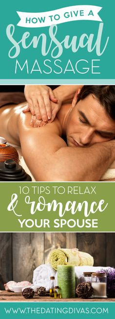 How to Give the BEST Sensual Massage - easy tips and tricks for a professional massage