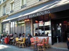 Creperie Beaubourg (down the block from our rental; ate there three times in ten days!)
