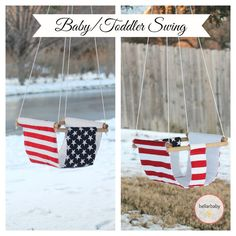 Wooden & Fabric mSwing by bellarbaby on Etsy