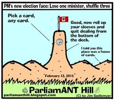 ParliamANT Hill: PM's new election face: Lose one minister, shuffle...