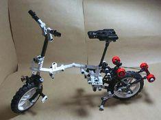 Creare una Brompton con il LEGO