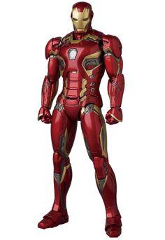 MEDICOM 2016 Sept: Action Figure MAFEX Series《AVENGERS AGE OF ULTRON》IRON MAN MARK45