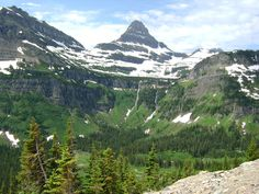 My favorite place to stop on the drive...  Glacier National Park