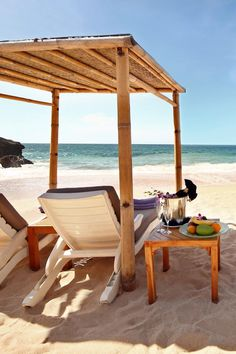 Relax and toast the good life on the hotel's private beach. AYANA Resort and Spa Bali (Jimbaran, Indonesia) - Jetsetter