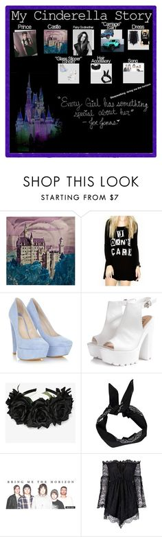 """My Cinderella story and my boyfriend"" by trust-kashmir ❤ liked on Polyvore featuring Universal Lighting and Decor, LAUREN MOSHI, Glamorous, Boohoo and Anja"