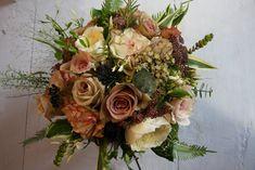 The Flower Magician: Mandy's Vintage Trial Wedding Bouquet