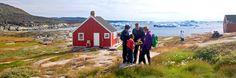 Testigos de Jehová predicando en Groenlandia