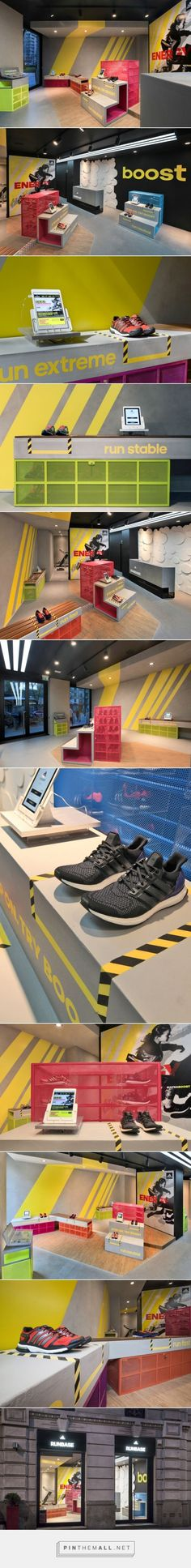adidas RunBase Store by DINN!, Milan – Italy » Retail Design Blog... - a grouped images picture - Pin Them All:
