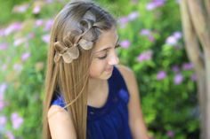 This style is so easy and quick but looks so different! #CGHRickRackBraid #cutegirlshairstyles #hairstyles #hairstyle #braid #braidhairstyles