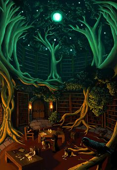 Library by Phasmageist (Richard Norman)