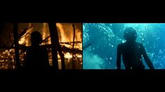 Malick // Fire & Water. Music: River by Alexandre Desplat