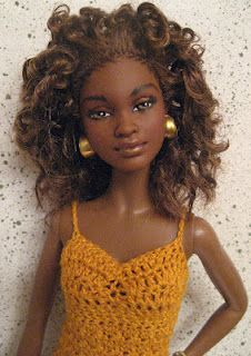 this barbie looks like a cousin of mine.