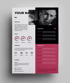 How to create perfect architecture portfolio Cv Resume Template, Resume Design Template, Design Templates, Portfolio Resume, Portfolio Design, My Portfolio, Book Design Inspiration, Web Design, Graphic Design Resume