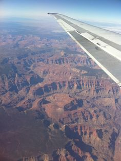 Flying over the Grand Canyon!