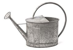 Galvanized Metal Watering Can - From Antiquefarmhouse.com - http://www.antiquefarmhouse.com/current-sale-events/garden2/galvanized-metal-watering-can.html
