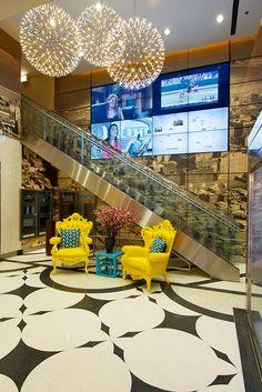 Randolph Tower: lobby